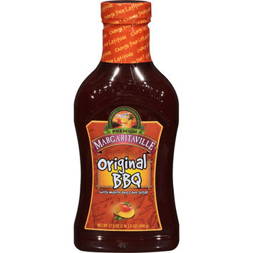 Margaritaville Original BBQ Sauce, 17.5 oz, (Pack of 6)