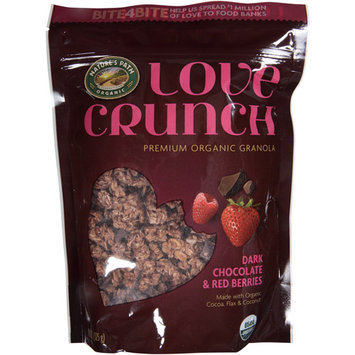 Nature's Path Organic Love Crunch Dark Chocolate & Red Berries Premium Granola, 11.5 oz, (Pack of 6)