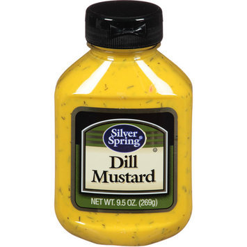 Silver Springs Silver Spring Dill Mustard, 9.5 oz, (Pack of 9)
