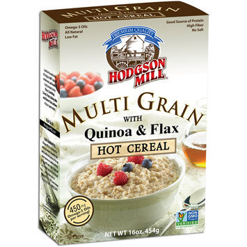 Hodgson Mill Multi Grain Hot Cereal with Milled Flaxseed & Soy, 16 oz (Pack of, 6)