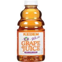 Kedem White Grape Juice, 32 fl oz, (Pack of 12)