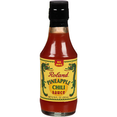 Roland Pineapple Chili Sauce, 6.76 fl oz, (Pack of 12)