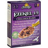 Food For Life Ezekiel 4:9 Cinnamon Raisin Sprouted Grain Crunchy Cereal, 16 oz (Pack of 6)