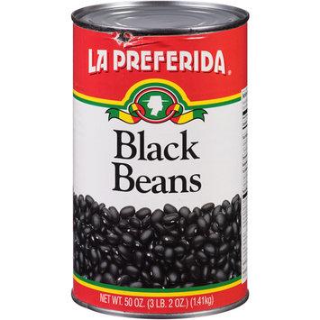 La Preferida Black Beans, 50 oz, (Pack of 12)