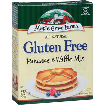 Maple Grove Farms of Vermont All Natural Gluten Free Pancake & Waffle Mix, 16 oz (Pack of 8)