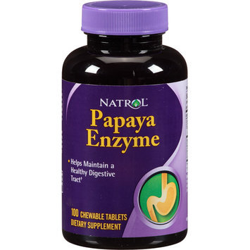 Natrol Papaya Enzyme Tablets, 100 count