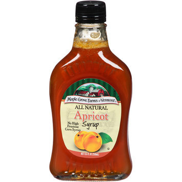 Maple Grove Farms of Vermont All Natural Apricot Syrup, 8.5 fl oz, (Pack of 6)