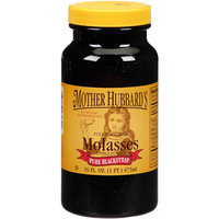 Mother Hubbard's Cupboard Mother Hubbard's Pure Blackstrap Molasses, 16 fl oz, (Pack of 6)