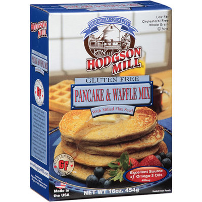 Hodgson Mill Gluten Free Pancake & Waffle Mix, 16 oz, (Pack of 8)