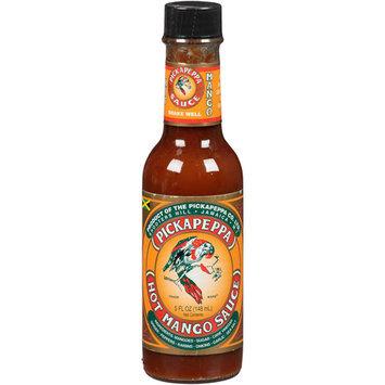 Pickapeppa Hot Mango Sauce, 5 fl oz, (Pack of 12)