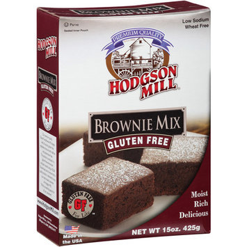 Hodgson Mill Gluten Free Brownie Mix, 15 oz, (Pack of 6)