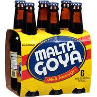 Malta Goya Malt Beverage, 6 count, 72 oz (Pack of 4)