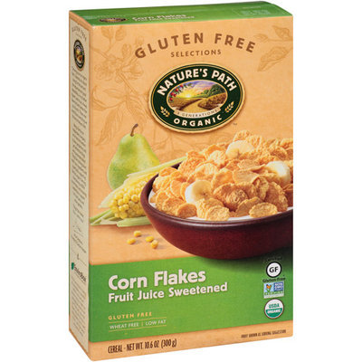 Nature's Path Organic Fruit Juice Sweetened Corn Flakes Cereal, 10.6 oz, (Pack of 6)