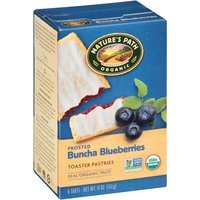 Nature's Path Organic Frosted Buncha Blueberries Toaster Pastries, 11 oz, (Pack of 6)