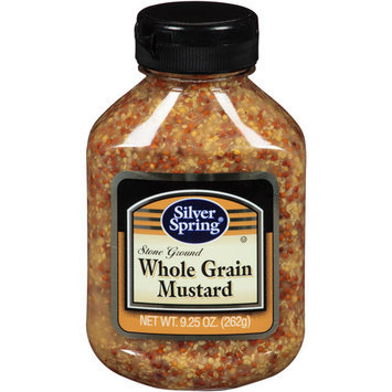Silver Springs Silver Spring Stone Ground Whole Grain Mustard, 9.25 oz (Pack of 9)
