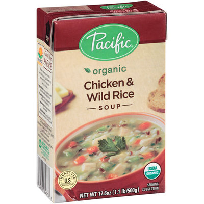 Pacific Foods Pacific Organic Chicken & Wild Rice Soup