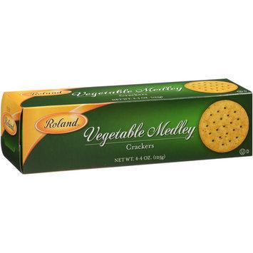 Roland Vegetable Medley Crackers, 4.4 oz, (Pack of, 12)