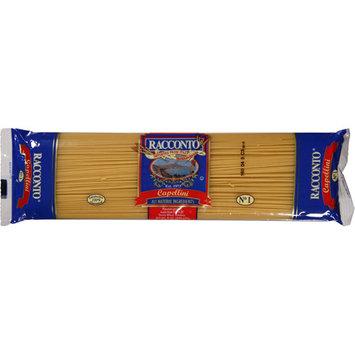 Racconto Capellini Pasta, 16 oz, (Pack of 20)