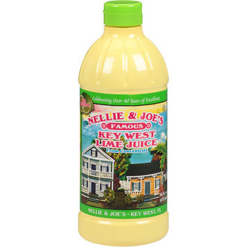 Nellie & Joe's Famous Key West Lime Juice, 16 fl oz, (Pack of 12)