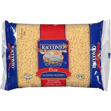 Racconto Orzo Pasta, 16 oz, (Pack of 20)
