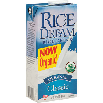 Rice Dream Classic Original Organic Rice Drink, 32 fl oz, (Pack of 12)