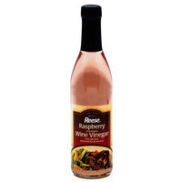 Reese Raspberry Flavored Wine Vinegar, 12.7 fl oz, (Pack of 6)