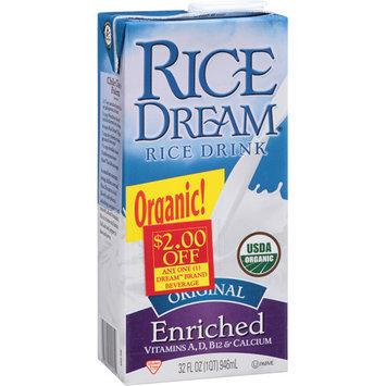Rice Dream Original Enriched Rice Drink, 32 fl oz, (Pack of 12)