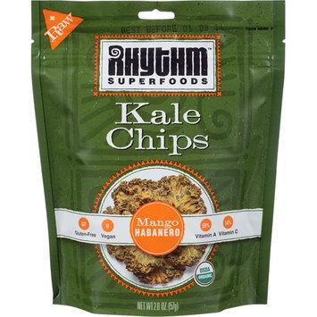 Rhythm Superfoods Mango Habanero Kale Chips, 2 oz, (Pack of, 12)