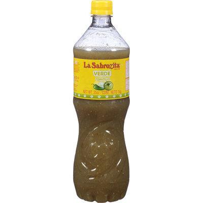 La Sabrozita Tomatillo Verde Salsa, 35 oz, (Pack of, 12)