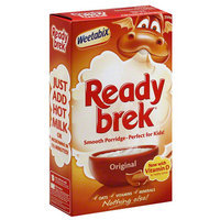 Readybreak Weetabix Ready brek Original Porridge, 8.8 oz, (Pack of 12)