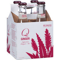 Q Tonic Q Ginger Superior Ginger Ale, 32 fl oz (Pack of 6)