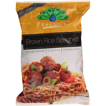 Peacock Brown Rice Spaghetti Pasta, 7 oz, (Pack of 6)