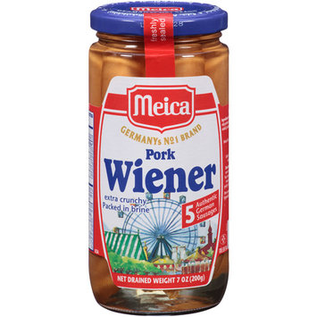 Meica Pork Wieners, 7 oz, (Pack of 12)