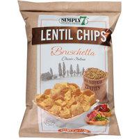Simply 7 Bruschetta Lentil Chips, 4 oz, (Pack of 12)