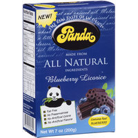 Panda All Natural Blueberry Licorice, 7 oz, (Pack of 12)