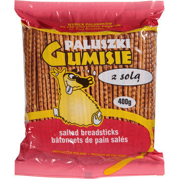Paluski Paluszki Gumisie Salted Breadsticks, 14.1 oz, (Pack of 20)