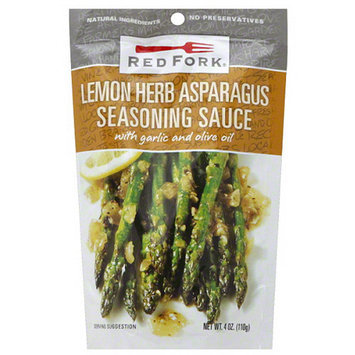 Red Fork Lemon Herb Asparagus Seasoning Sauce, 4 oz, (Pack of 8)