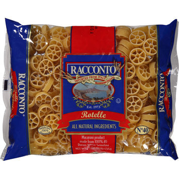 Racconto Rotelle Pasta, 16 oz, (Pack of 20)