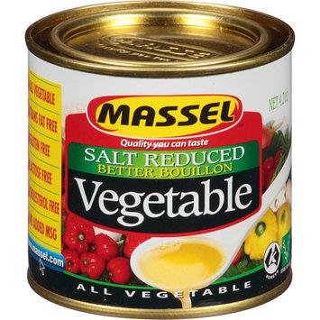 Massell Massel Salt Reduced Better Bouillon Vegetable, 4.2 oz, (Pack of 6)
