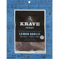 Krave Lemon Garlic Jerky, 3.25 oz, (Pack of 8)
