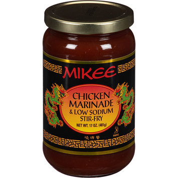 Mikee Chicken Marinade & Low Sodium Stir-Fry, 17 oz, (Pack of 12)