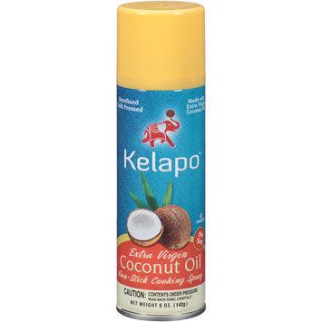 Kelapo Extra Virgin Coconut Oil Non-Stick Cooking Spray, 5 oz, (Pack of 6)