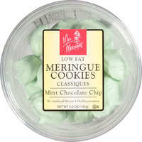 Harmony Farms Miss Meringue Mint Chocolate Chip Classiques Meringue Cookies, 5 oz, (Pack of 12)