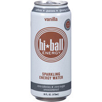 Hi Ball Energy Hi-Ball Energy Vanilla Sparkling Energy Water, 16 fl oz, (Pack of 12)