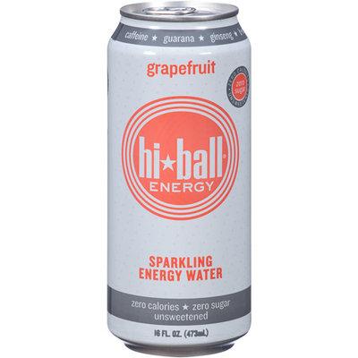 Hi Ball Energy Hi-Ball Energy Grapefruit Sparkling Energy Water, 16 fl oz, (Pack of 12)