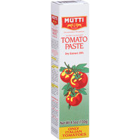 Mutti Tomato Paste, 4.5 oz, (Pack of 12)