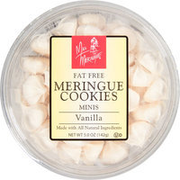 Harmony Farms Miss Meringue Vanilla Minis Meringue Cookies, 5 oz, (Pack of 12)