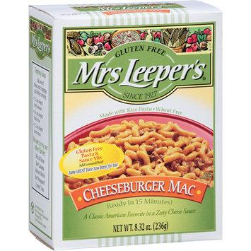 Mrs Leepers Mrs Leeper's Gluten Free Cheeseburger Mac Pasta & Sauce Mix, 8.32 oz, (Pack of 12)