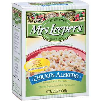 Mrs Leepers Mrs Leeper's Gluten Free Chicken Alfredo Pasta & Sauce Mix, 7.05 oz, (Pack of 12)