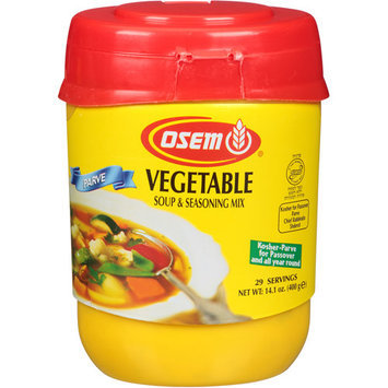 Osem Vegetable Soup & Seasoning Mix, 14.1 oz, (Pack of, 12)